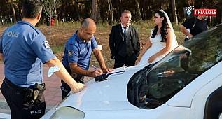 Düğün günü dış çekime giden gelin ve damada büyük şok