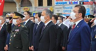 İstanbul'un düşman işgalinden kurutuluşunun 98'inci yılı Taksim'de kutlandı